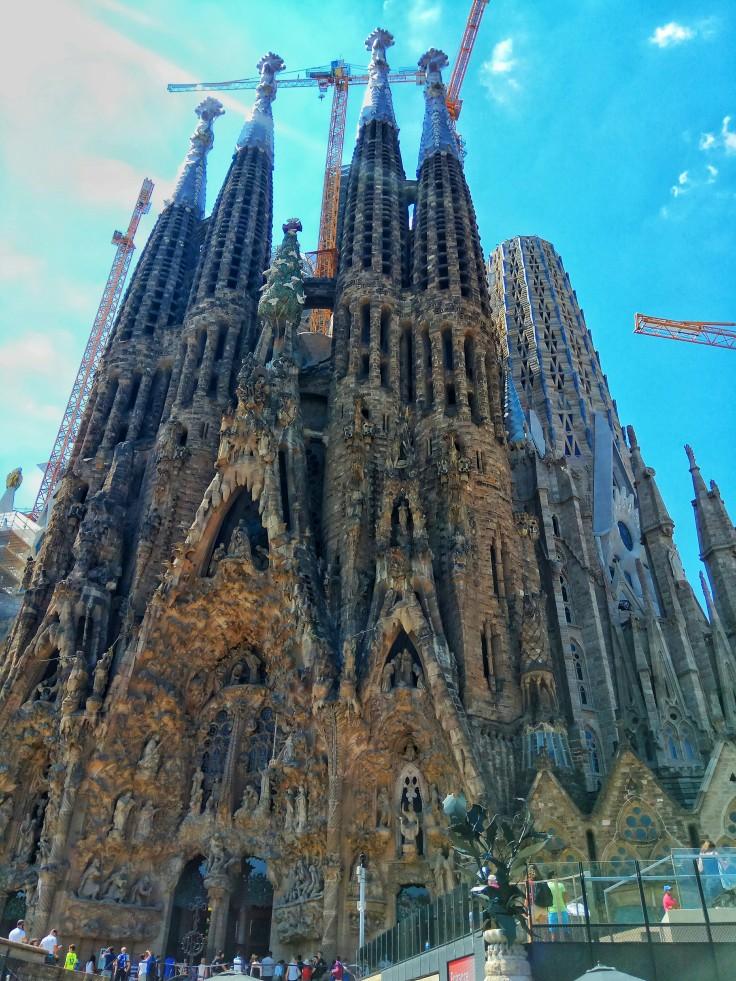Nativity Facade of the Sagrada Familia