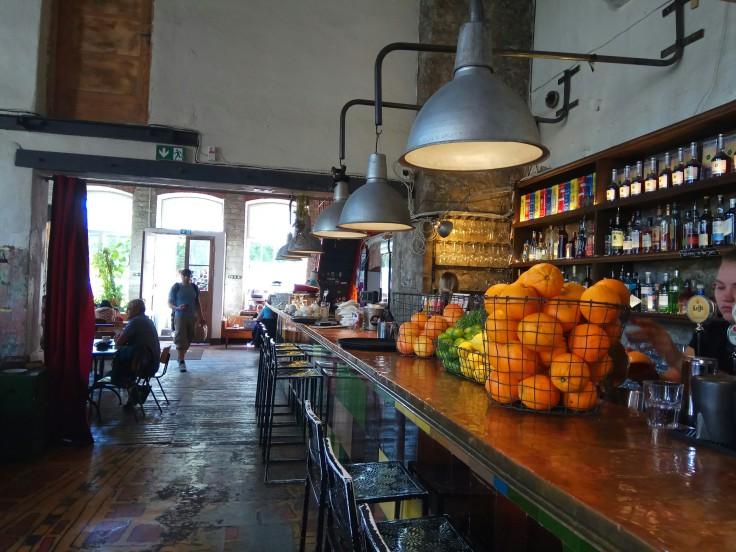 F-Hoone Cafe in Tallinn Telliskivi