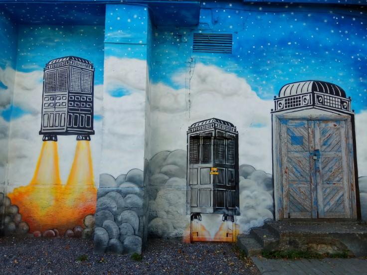 Graffiti in Telliskivi Tallinn