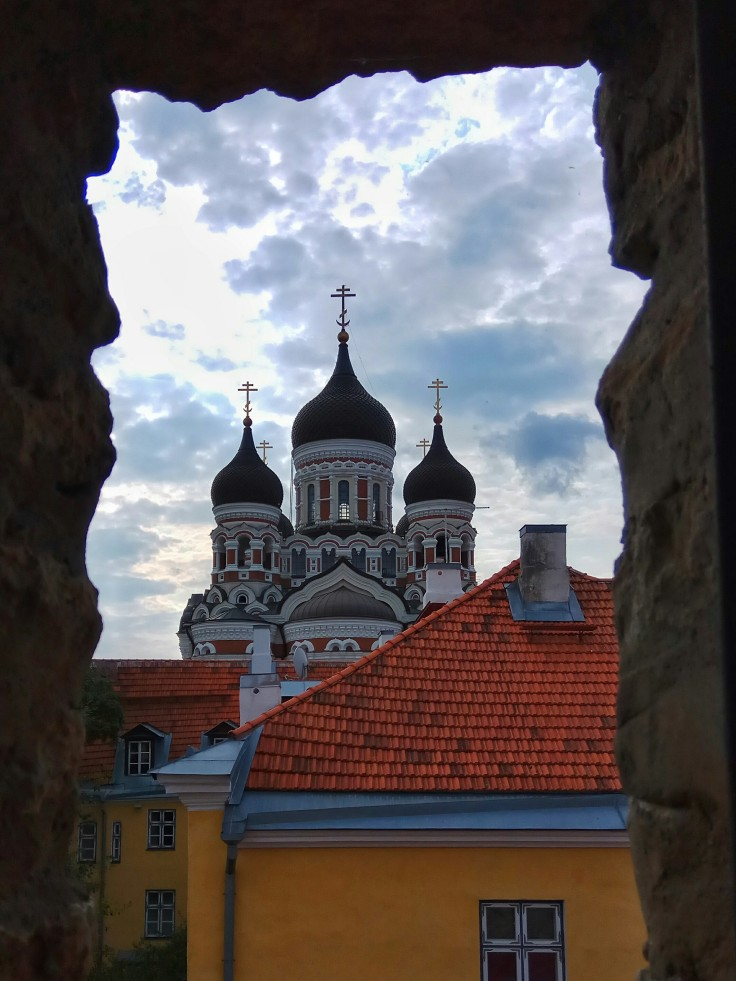 Alexander Nevsky Cathedral viewed from the Tallinn City Wall