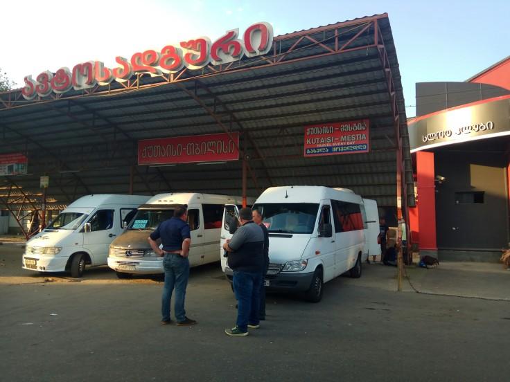 Kutaisi bus station