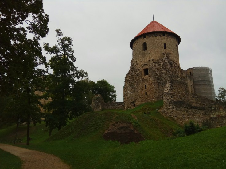 Part of Old Town Defenses of Cēsis Latvia
